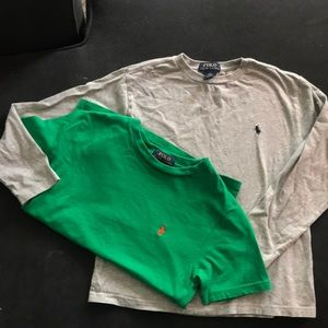 Boys size 8 Polo by Ralph Lauren shirts